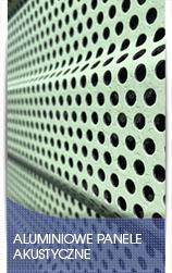 Aluminiowe panele akustyczne